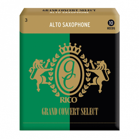 Reed Sax Alto Rico grand concert select force 3 x10