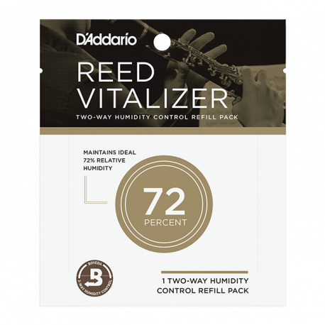 echarge rico d'addario reed vitalizer 72% humidité vos anches