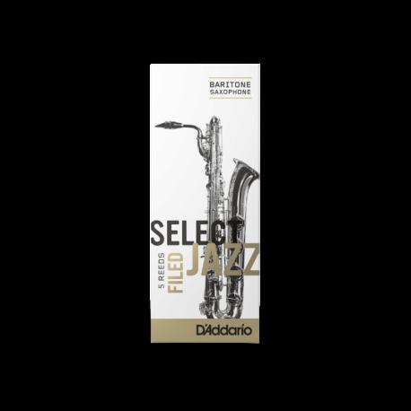 Anche Saxophone Baryton D'Addario Jazz force 2m medium filed x5