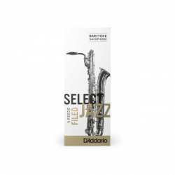 Mundstück Saxophon Bariton Rico-d ' addario jazz, stärke 3m-medium unfiled x5
