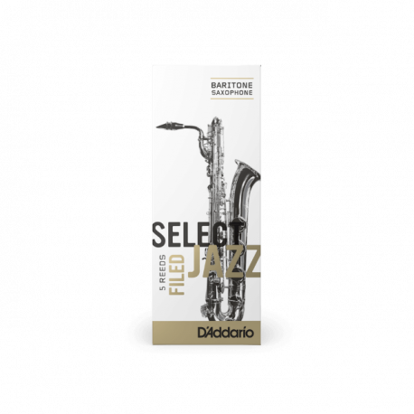 Mundstück Saxophon Bariton Rico-d ' addario jazz, stärke 4m medium unfiled x5