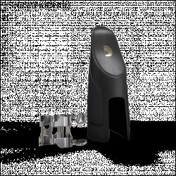 H-リガチャコD'addarioシルバーメッキアルトサクソフォンの4点接触