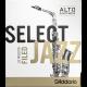 Anche Saxophone Alto Rico D'Addario Jazz force 3h hard filed x10