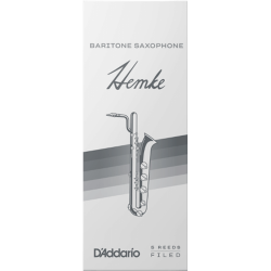 Reed Saxofón Barítono Rico hemke premium fuerza x5 3.5