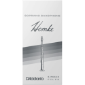 Reed Saxofón Soprano Rico hemke premium fuerza 3 x5