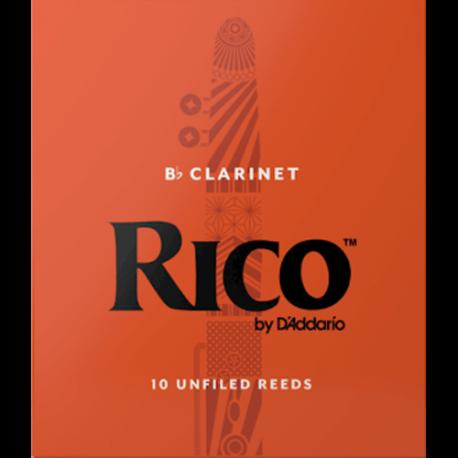 Anche Clarinette Sib Rico naranja de la fuerza de 1.5 x10