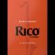 Caña Clarinete Bajo Rico naranja de la fuerza de 3.5 x10