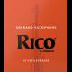 Anche Saxophone Soprano Rico by D'Addario Orange force 3 x10