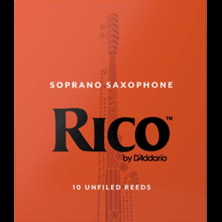 Anche Saxophone Soprano Rico D'Addario Orange force 2.5 x10