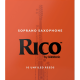 Mundstück Sopran-Saxophon Rico orange stärke 2 x10