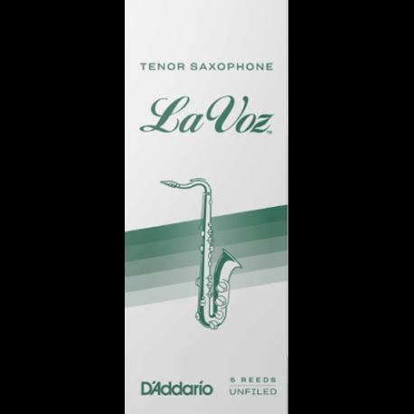 Anche Saxophone Ténor Rico D'Addario La Voz hard / fort x10