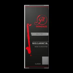 Reed, Bass Clarinet Gonzalez classic strength 2.5 x5