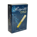 Reed Baritone Saxophone Rigotti gold jazz force 3.5 x10