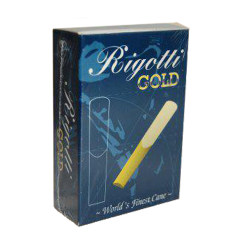 Reed Baritone Saxophone Rigotti gold jazz force 4 x10