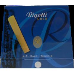 Anche Saxophone Ténor Rigotti gold force 3 x3 - Dureté Light