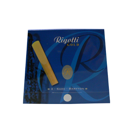 Anche Saxophone Baryton Rigotti gold force 3 x3 - Dureté Light