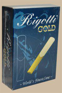 Bo�te de 10 anches Rigotti Gold Jazz Saxophone  Baryton force 2.5