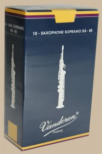 "Bo�te d'anches Vandoren ""Traditionnelles"" Saxophone soprano force 2,5"