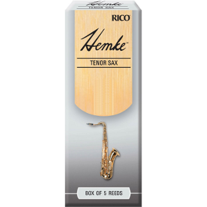 Bo�te de 5 anches Hemke Premium Rico Saxophone t�nor force 2
