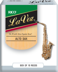 La Voz Rico pour Sax alto mi bemol Mib Medium Hard / Moyen Fort - 10 anches