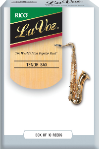 LaVoz Rico pour Saxophone t�nor Hard / Fort - 10 anches