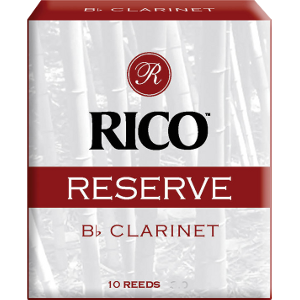 Bo�te de 10 anches Rico R�serve de Clarinette Sib/Bb force 4.5