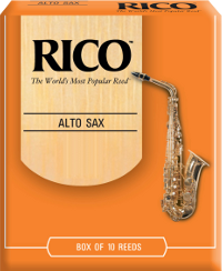 10 anches Rico Orange Saxophone alto force 2.5