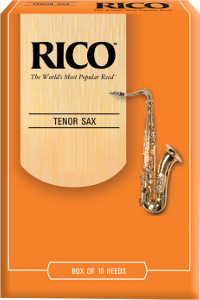 10 anches Rico Orange Saxophone t�nor force 2.5