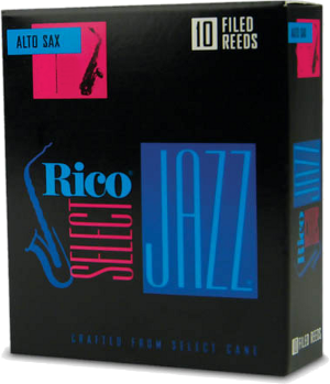Anche Rico Jazz Saxophone Alto force 3M medium filed - Bo�te de 10