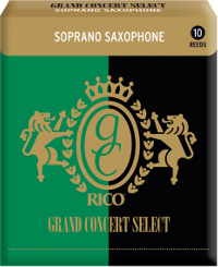 Rico Grand Concert Select Saxophone soprano force 4 - Bo�te de 10