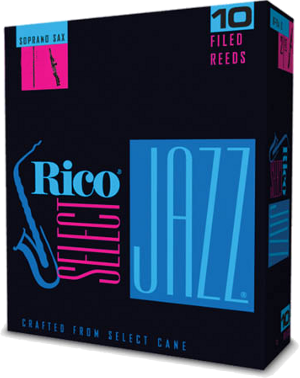 Anche Rico Jazz Saxophone Soprano force 4M medium filed - Bo�te de 10