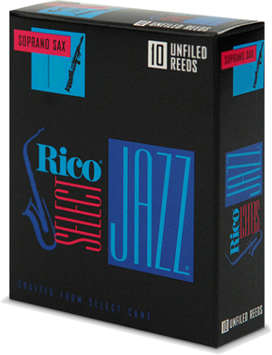 Anche Rico Jazz Saxophone Soprano force 4H hard unfiled - Bo�te de 10