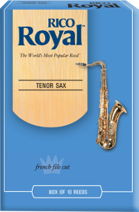 Bo�te de 10 anches Rico Royal Saxophone t�nor force 5