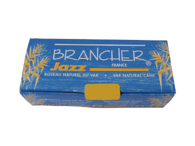 Bo�te de 6 anches Brancher Jazz Saxophone soprano force 3.5