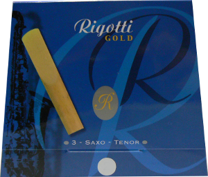 3 anches Rigotti Gold saxophone t�nor force 3