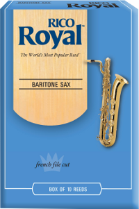 Bo�te de 10 anches Saxophone baryton Rico Royal force 2