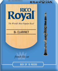 Bo�te de 10 anches Rico Royal Clarinette Sib/Bb force 4