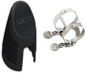 Ligature Rico pour clarinette Sib 4 points de contact