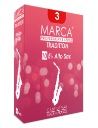 10 anches Marca coupe Tradition saxophone alto force 3