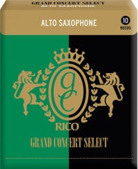 Bo�te de 10 anches Rico Grand Concert Select Saxophone alto force 2.5