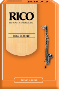 10 anches Rico Orange Clarinette Basse force 2