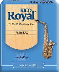 Bo�te de 10 anches Rico Royal Saxophone Alto Mib/Eb force 1