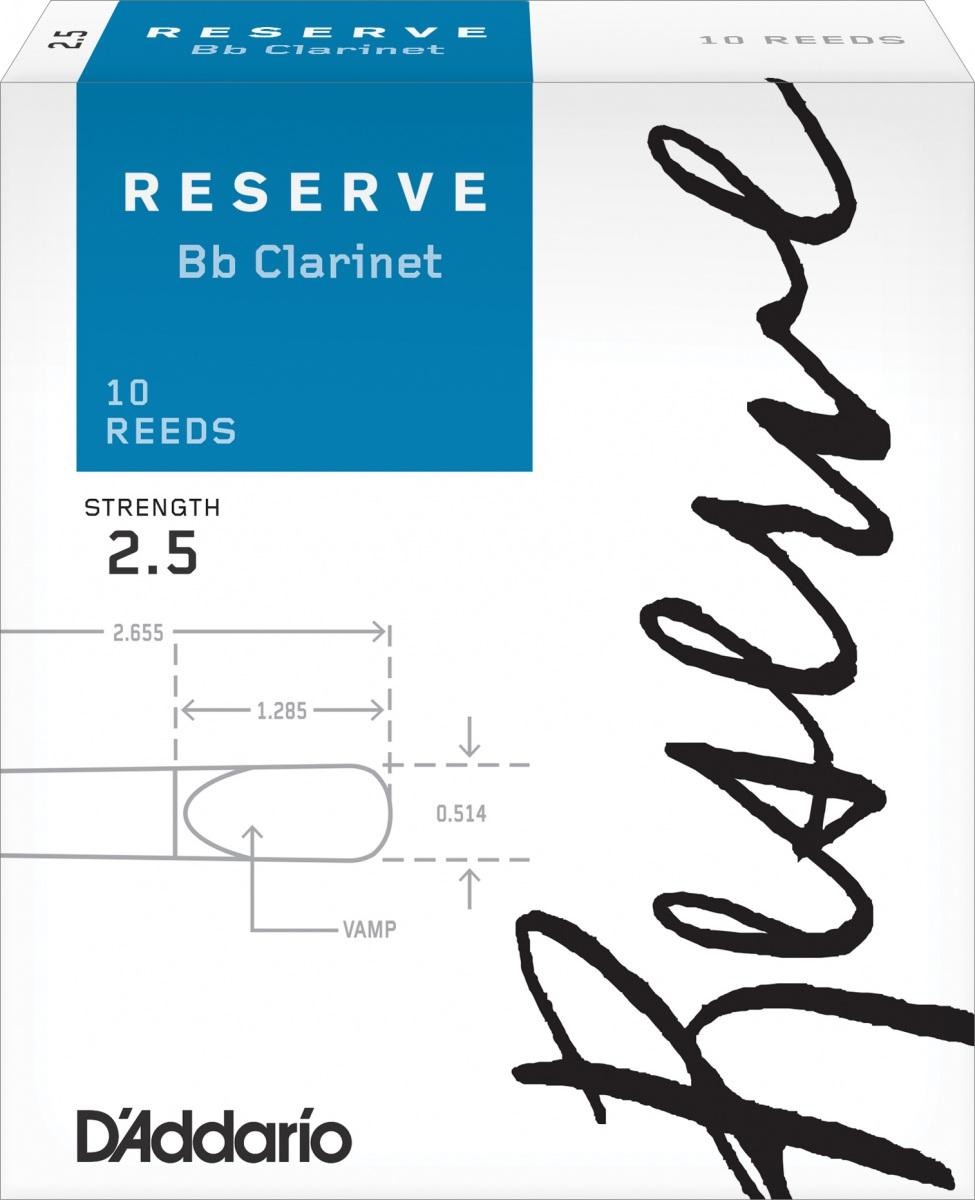 Anche Clarinette Sib Reserve D'Addario x10
