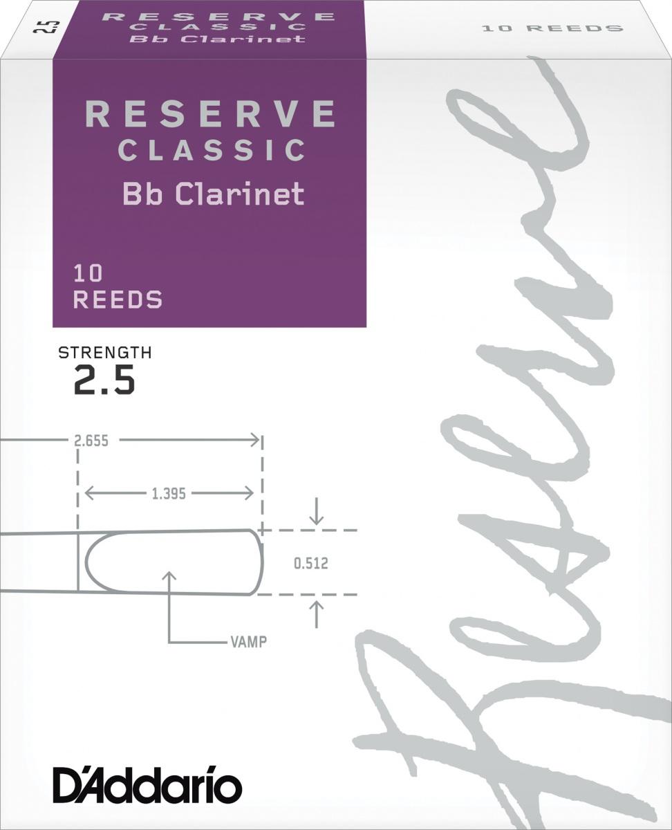 Anche Clarinette Sib Reserve Classic x10
